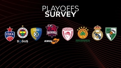 Playoffs predictions: EuroLeague coaches and players