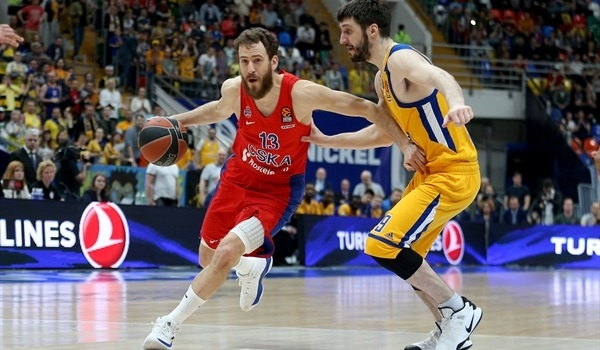 Playoffs Game 1 report: CSKA holds off Khimki in tight opener