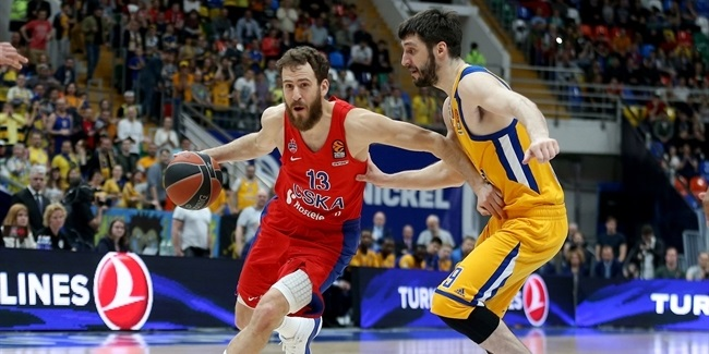 Playoffs Game 1: CSKA Moscow vs. Khimki Moscow Region