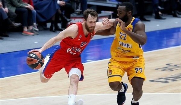 Playoffs Game 2 report: Rodriguez leads CSKA to 2-0 series lead