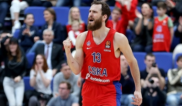 Playoffs Game 2 MVP: Sergio Rodriguez, CSKA Moscow