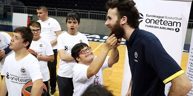 Fenerbahce's Datome teams with Special Olympics Turkey