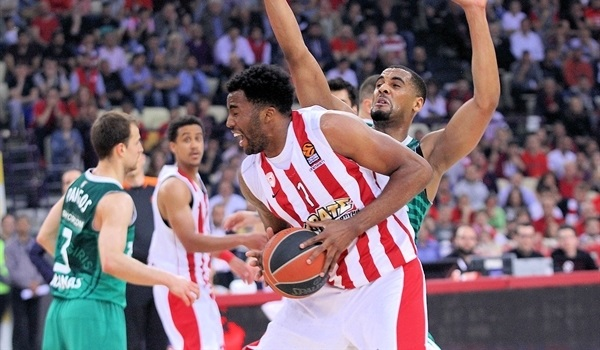 Playoffs Game 2 report: McLean, Olympiacos overcome Zalgiris and tie series