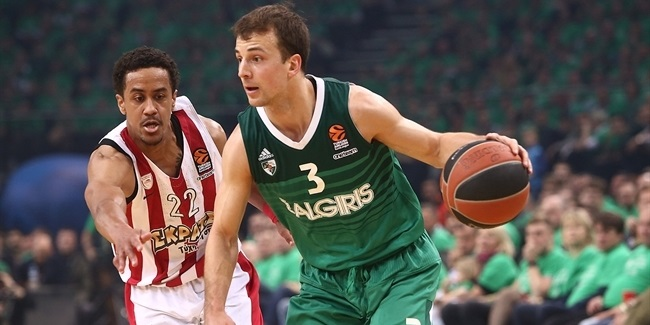 Playoffs Game 3: Zalgiris Kaunas vs. Olympiacos Piraeus
