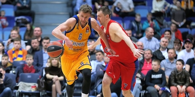 Playoffs Game 3: Khimki Moscow Region vs. CSKA Moscow