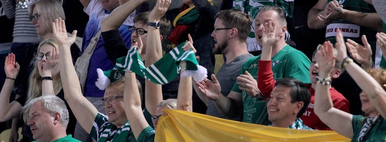 Voices, Game of the Week: Zalgiris fans meet their moment