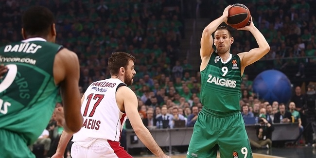 Playoffs Game 4: Zalgiris Kaunas vs. Olympiacos Piraeus