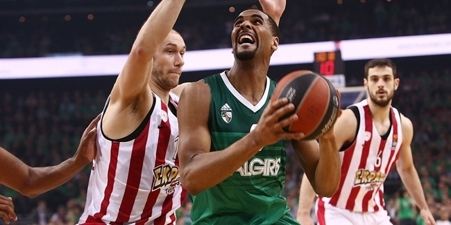 MVP for April: Brandon Davies, Zalgiris Kaunas