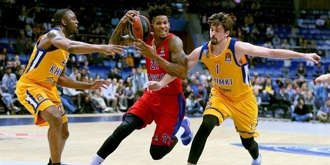 Playoffs Game 4: Khimki Moscow Region vs. CSKA Moscow