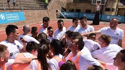 One Team refurbishes historic Belgrade courts ahead of Final Four