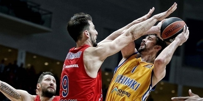 EuroLeague Alphonso Ford Top Scorer: Alexey Shved, Khimki