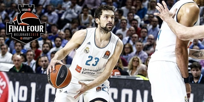 Sergio Llull, Madrid: 'Very happy to be back'