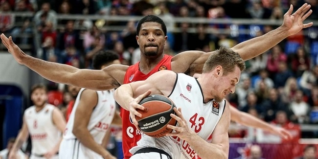 EuroLeague Best Defender: Kyle Hines, CSKA Moscow