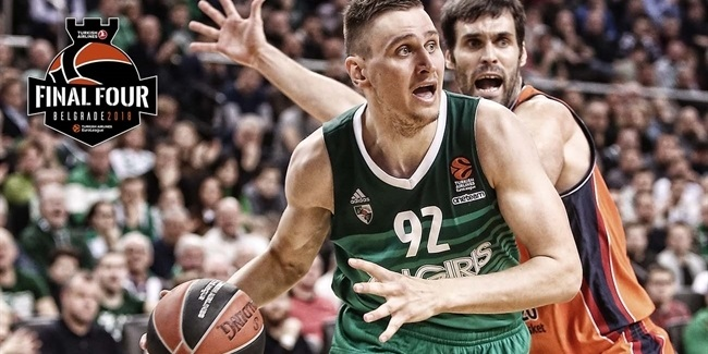 Edgaras Ulanovas, Zalgiris: 'It is all about the effort'