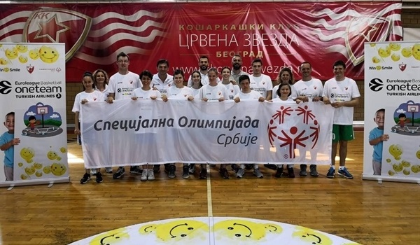 Zvezda completes Win4Smile program ahead of Final Four fun