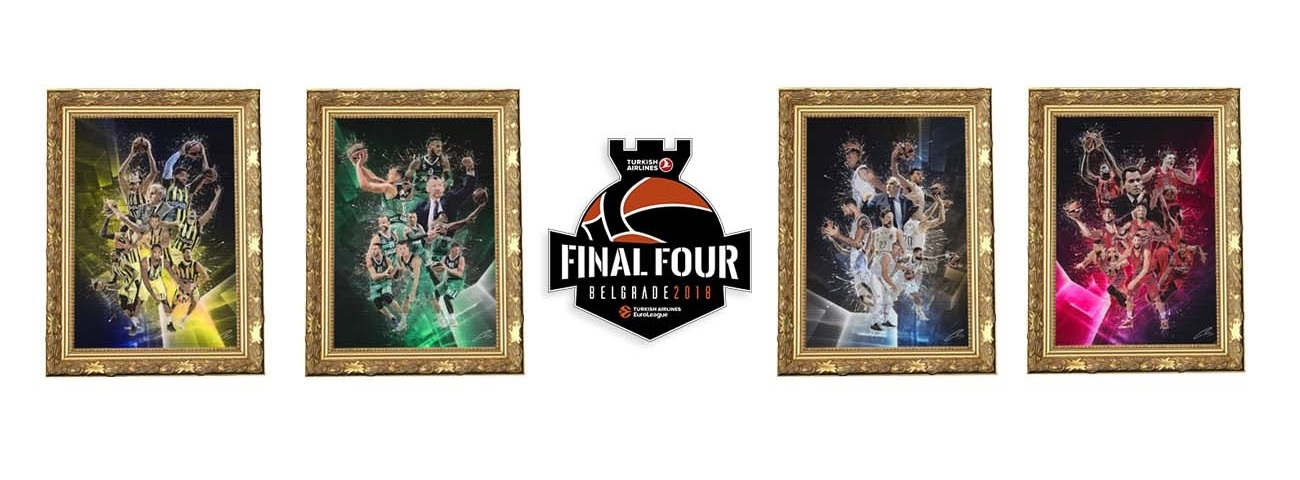 Special Final Four artwork commissioned to benefit One Team