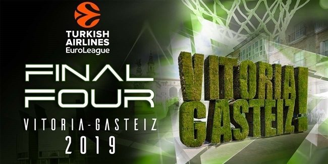 Vitoria-Gasteiz to host the 2019 Turkish Airlines EuroLeague Final Four