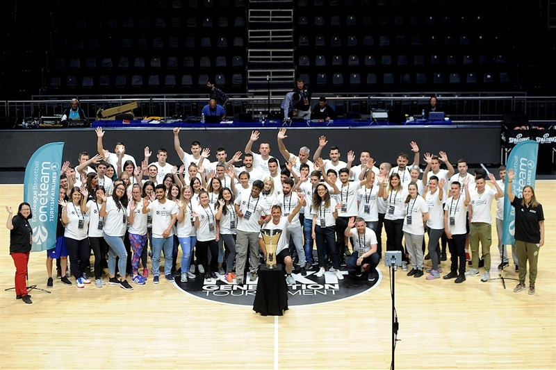 One Team Welcome for Final Four volunteers - Belgrade 2018 - EB17