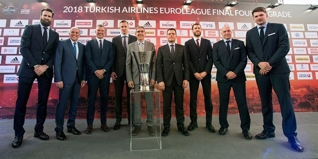 Final Four Belgrade 2018 - Opening Press Conference