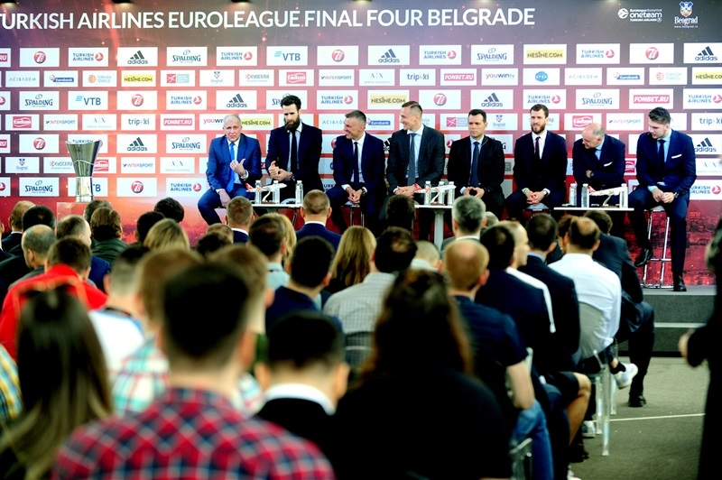 Opening Press Conference - Belgrade 2018 - EB17