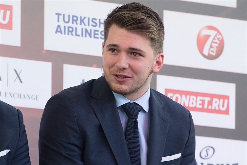 Luka Doncic - Opening Press Conference - Belgrade 2018 - EB17