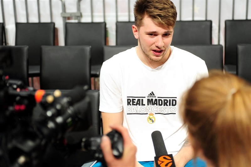Luka Doncic - Real Madrid Practices - Belgrade 2018 - EB17