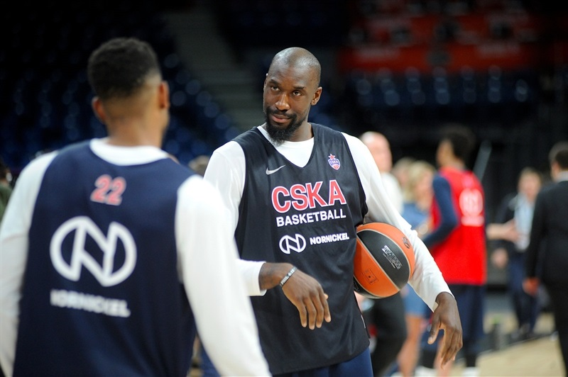 Othello Hunter - CSKA Moscow Practices - Belgrade 2018 - EB17