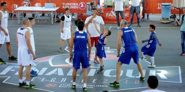 One Team shines with busy schedule in Belgrade