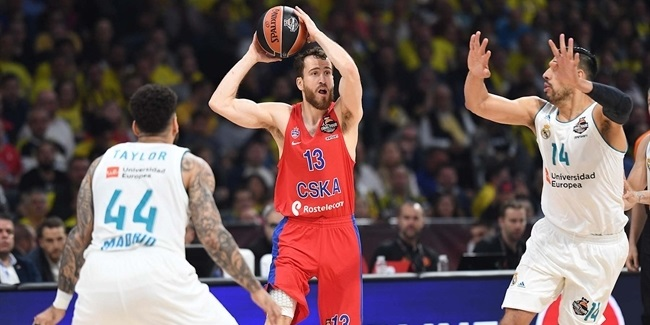 Final Four Belgrade 2018 - Semifinal, CSKA Moscow vs. Real Madrid