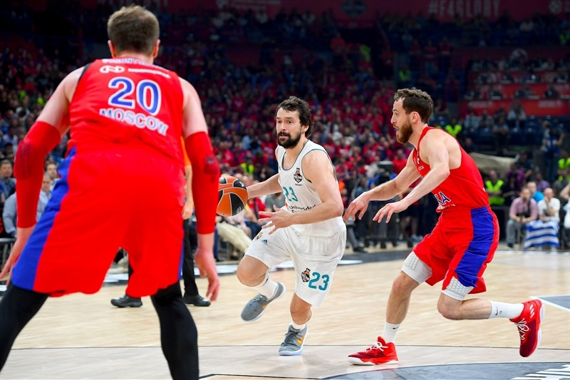 Sergio Llull - Real Madrid - Belgrade 2018 - EB17