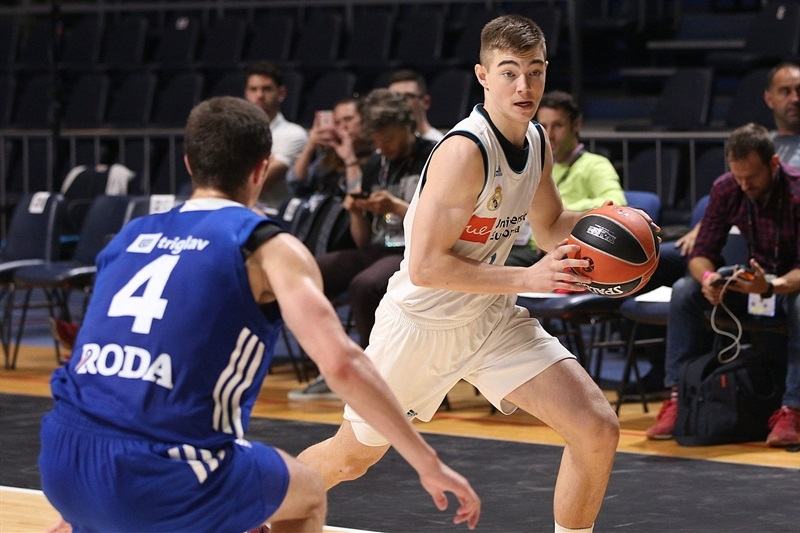 Ziga Samar - U18 Real Madrid - ANGT Finals Belgrade 2018 - JT17