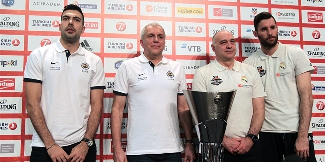 Final Four Belgrade 2018 - Championship Game Press Conference