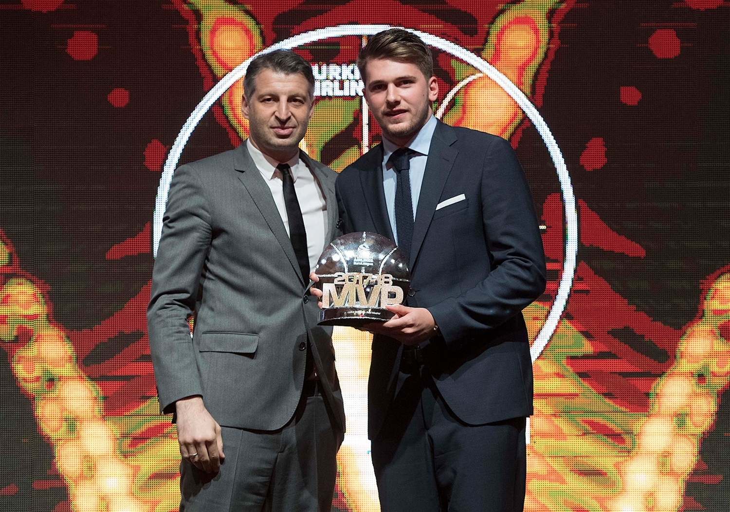 Luka Doncic, MVP 2017-18 - Awards ceremony - Belgrade 2018 - EB17