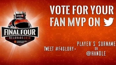 Fans can vote for their #F4MVP on Twitter!