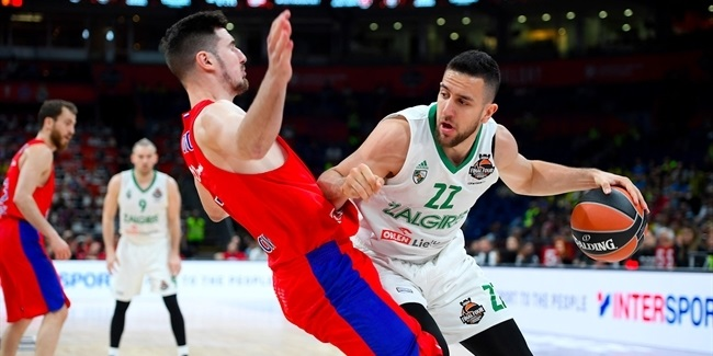 Final Four Belgrade 2018 - Third Place, CSKA Moscow vs. Zalgiris Kaunas