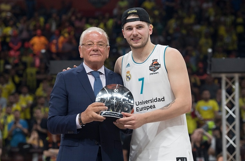 Luka Doncic, Final Four MVP - Real Madrid - Belgrade 2018 - EB17