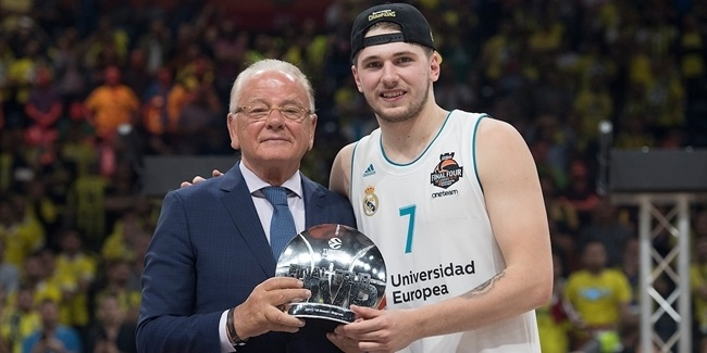 Doncic chosen Final Four MVP
