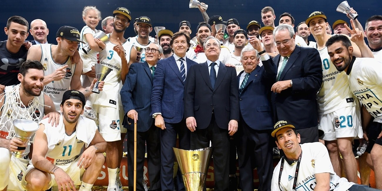 Real Madrid Champ EuroLeague 2017-18 - Belgrade 2018 - EB17
