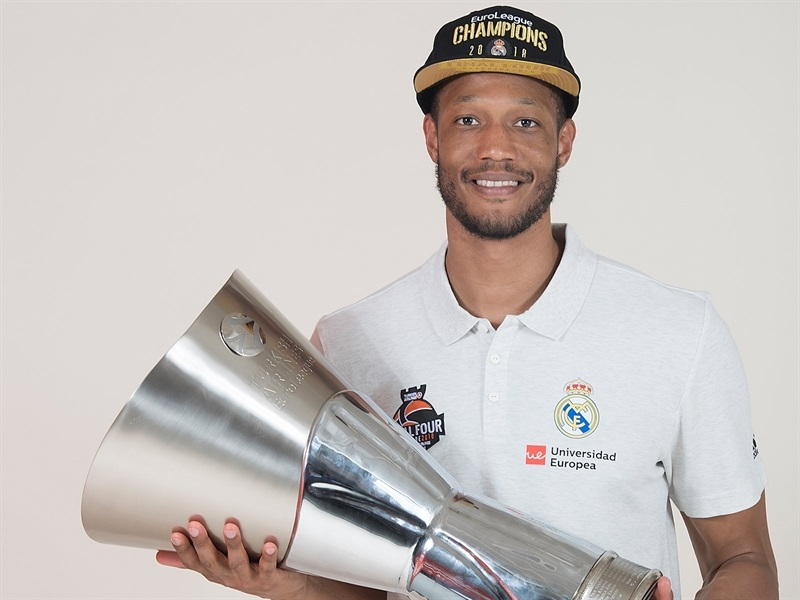 Anthony Randolph - Real Madrid  trophy photo shoot - Belgrade 2018 - EB17