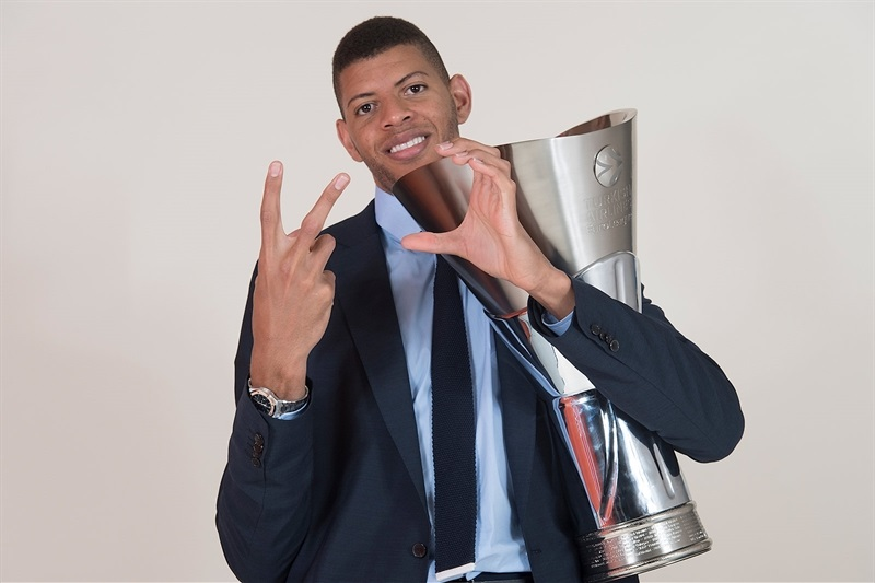 Walter Tavares - Real Madrid  trophy photo shoot - Belgrade 2018 - EB17