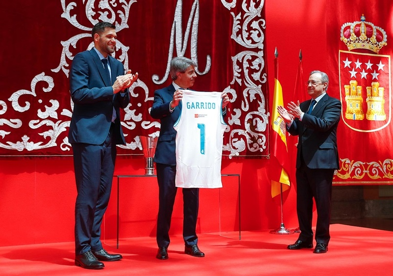 Angel Garrido - Real Madrid celebrates champ in Madrid - Belgrade 2018 (photo Real Madrid)