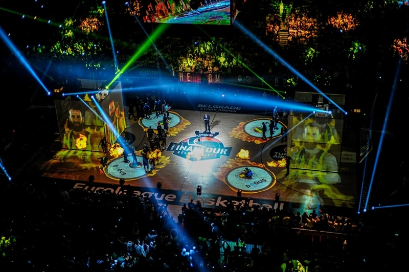 Light Show in Stark Arena - Belgrade 2018 - EB17