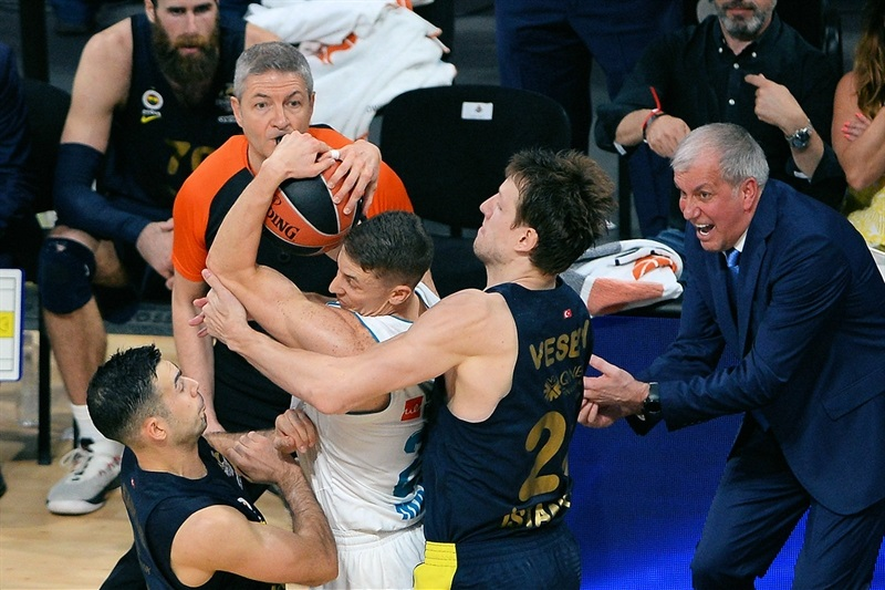 Jaycee Carroll - Real Madrid - Belgrade 2018 - EB17