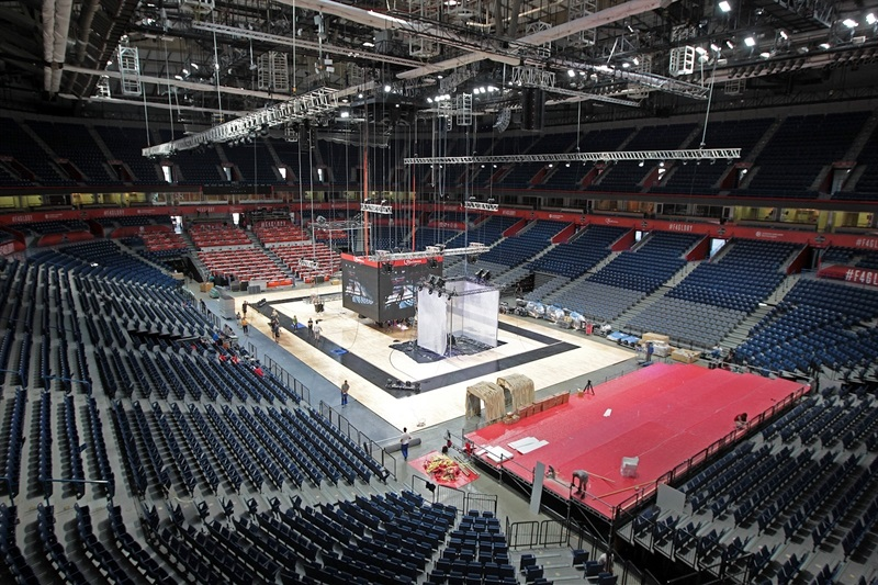 Preparation Stark Arena - Belgrade 2018 - EB17