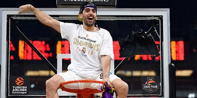 Madrid re-signs Campazzo to three-year deal