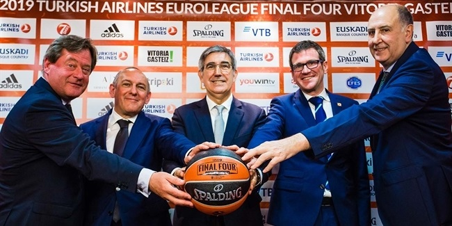 2019 Final Four presented in Vitoria Gasteiz