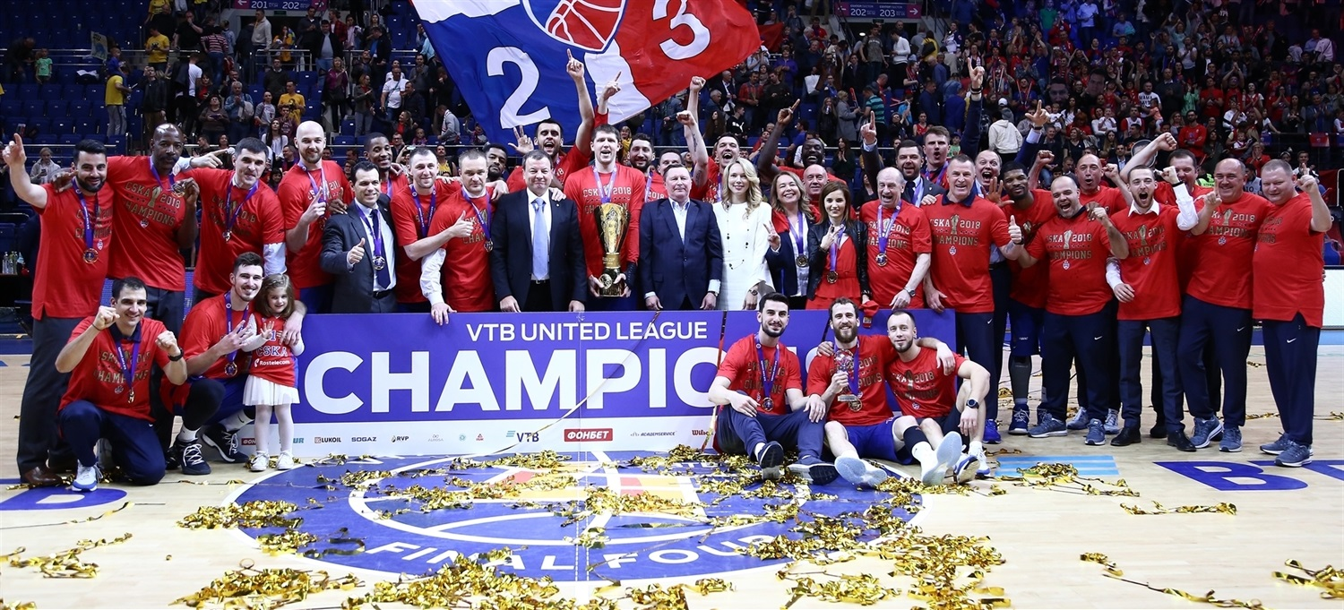 CSKA Moscow is 2018 VTB United League champion