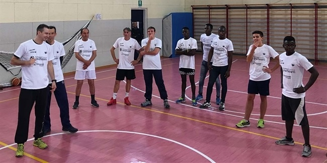 Trento uses basketball as a tool to improve lives