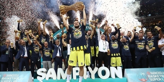 Turkish Airlines EuroLeague and 7DAYS EuroCup teams, domestics champions 2017-18