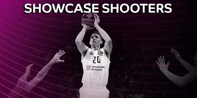 Top 10 showcase shooters of the 2017-18 EuroLeague season!